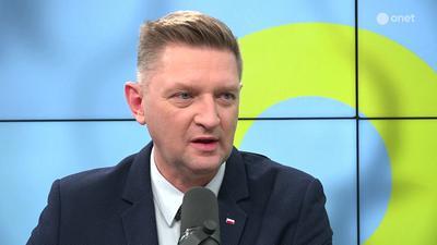 Andrzej Rozenek o składaniu fałszywych zeznań przeciwko Banasiowi: mamy do czynienia z wojną gangów
