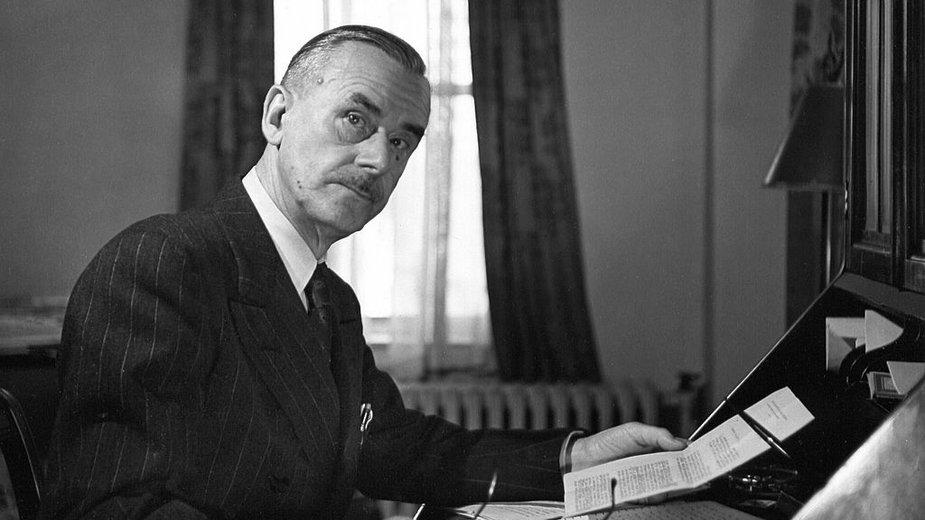 Thomas Mann w 1943 r. w Nowym Jorku