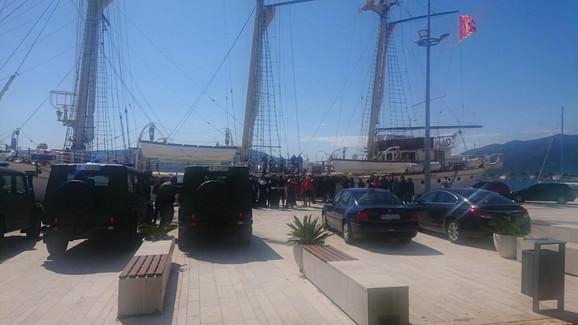 Brod u Crnoj Gori gde je pronađena droga