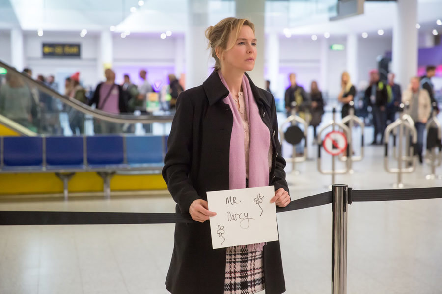 "Renee Zellweger  w filmie ""Bridget Jones 3"""
