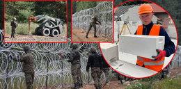 Pokazaliśmy fachowcowi zdjęcia i filmy z budowy płotu na granicy z Białorusią. Złapał się za głowę