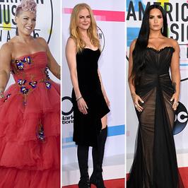 Mnóstwo gwiazd na gali American Music Awards