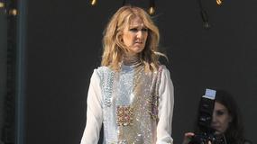 Celine Dion odsłoniła zgrabne nogi. Tę stylizację może zaliczyć do udanych
