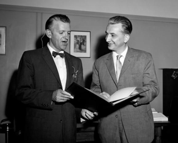 Tražio streljanje bivšeg gradonačelnika Užica: Dobrivoje Vidić (desno)