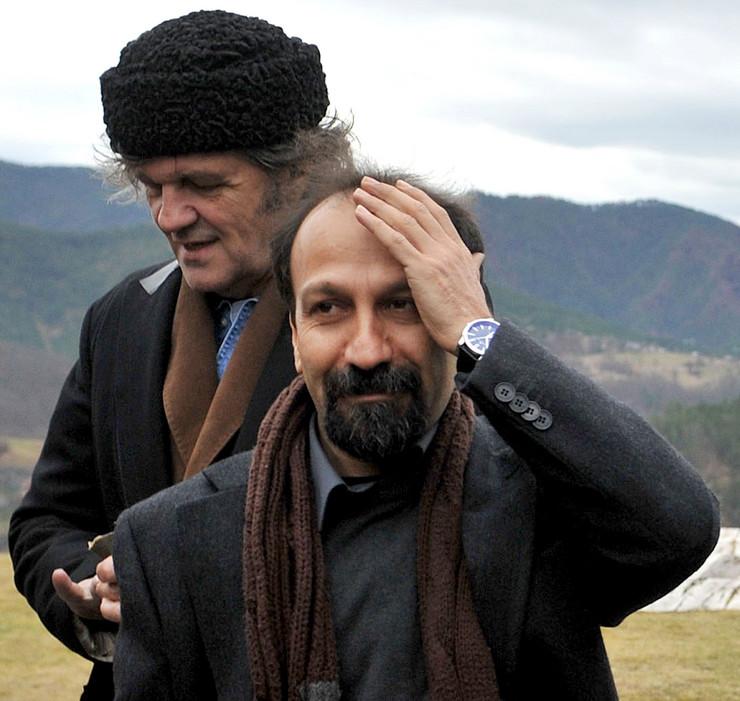 Ašgar Ferhadi, iranski reditelj kome je onemogućeno da prisustvuje dodeli Oskara, tokom boravka na Mokroj Gori