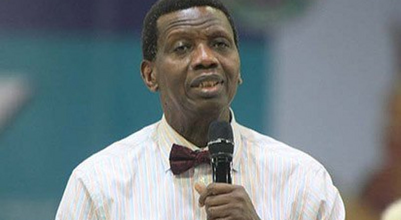 Adeboye says replacing Service Chiefs won't solve insecurity issues