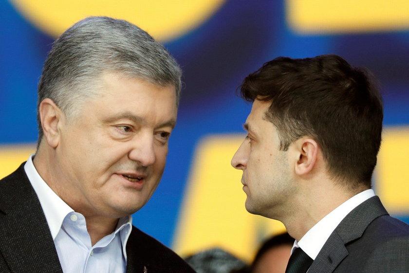 Debata Poroszenko - Zełenski