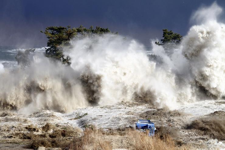 Cunami, Japan