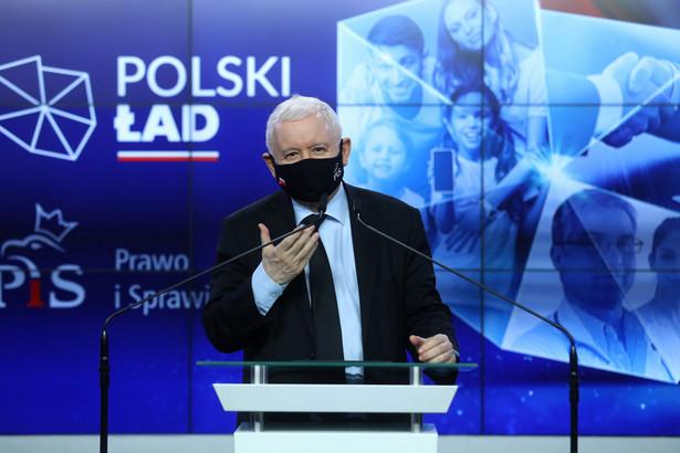 Jarosław Kaczyński przedstawia program Polski Ład
