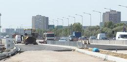 Na moście Grota-Roweckiego jest już asfalt
