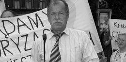 Nie żyje krakowski działacz