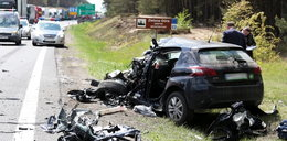 Koszmarny wypadek na S3. Wjechał pod TIRa