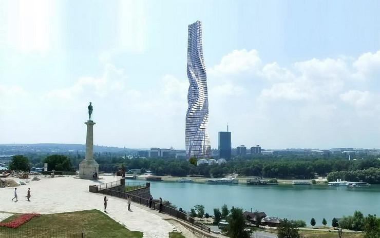 rotirajući neboder besiks kula