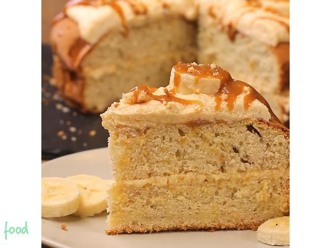 Banana karamel torta: Savršena kombinacija biskvita i krema za potpuno zadovoljstvo!