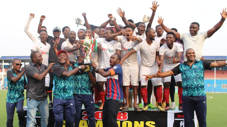 Kada City are champions of the NNL Super 8 [OganlaMedia]
