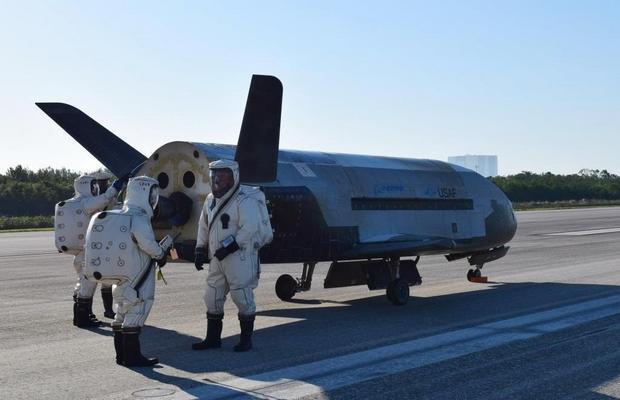 X-37B po rekordowym locie