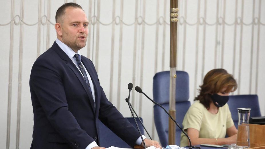 Karol Nawrocki to kandydat na szefa IPN. Jego wybór przez Sejm czeka na zgodę Senatu
