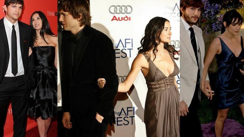 (Nie)dobrana para. Demi Moore i Ashton Kutcher – od początku do końca
