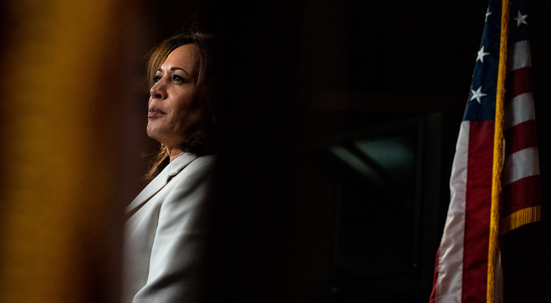 Kamala Harris Is Said to Be Weighing an Endorsement of Joe Biden