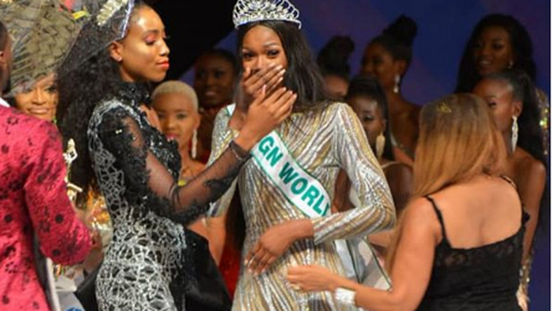 On Friday, October 11, 2019, 21-year-old Nyekachi Douglas was crowned the 2019 Most Beautiful Girl in Nigeria in Bayelsa. [Instagram/SilverbirdMBGN]
