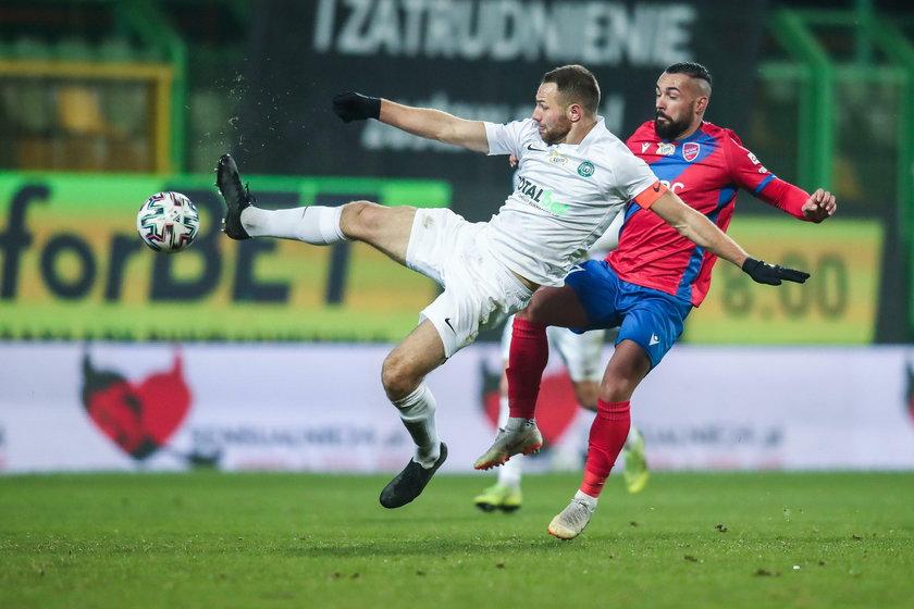 Ekstraklasa: Raków pokonał WartęPoznań