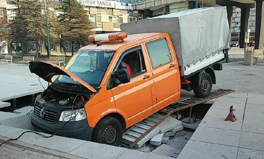 Katowice. Miasto zapada się, bo źle wykonano remonty