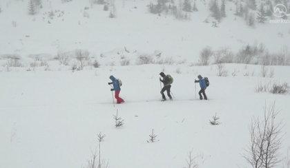 Turyści utknęli w schroniskach. Zagrożenie lawinowe w Tatrach