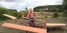Buduję samolot z roweru