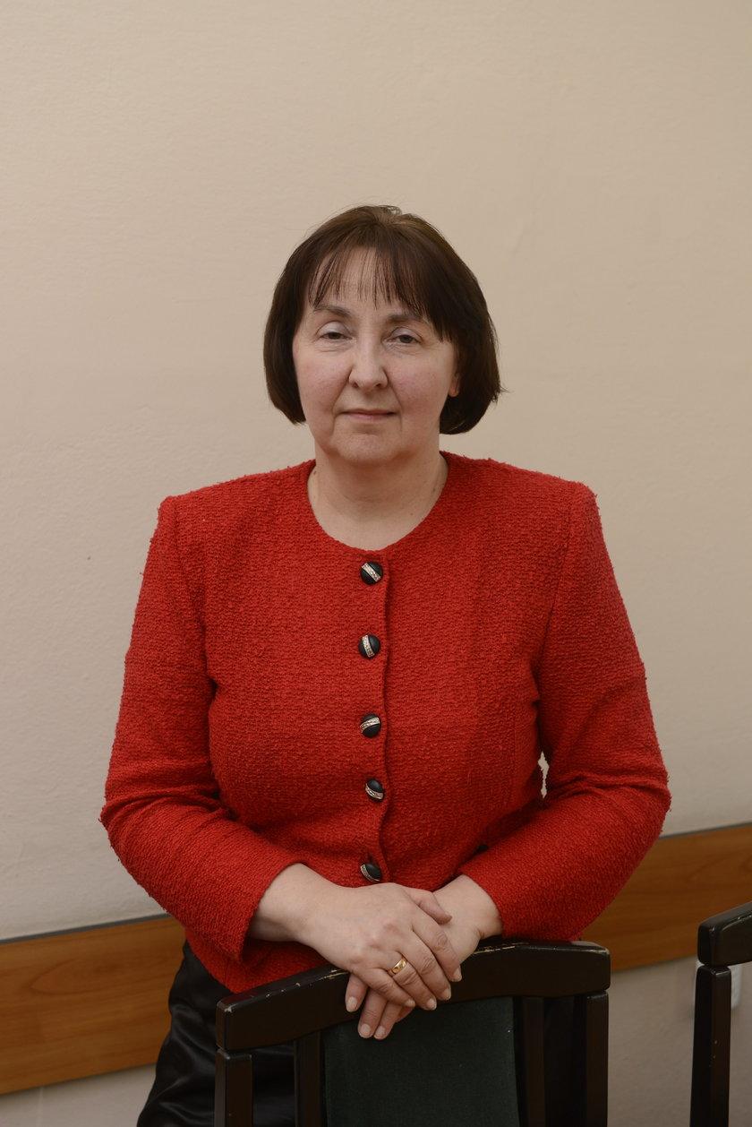 dr Irena Podgórska (58 l.), dyrektor I LO we Wrocławiu
