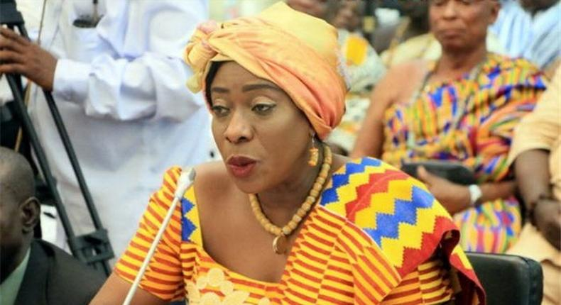 Ghana's Tourism, Arts and Culture Minister Catherine Afeku