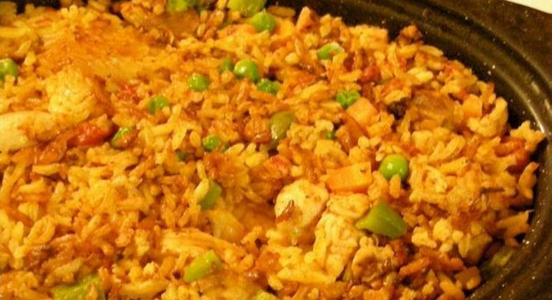 Congo Jollof rice