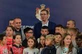 Aleksandar Vučić, Deca sa KiM