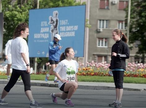 Razgibavanje i zagrevanje pre trke