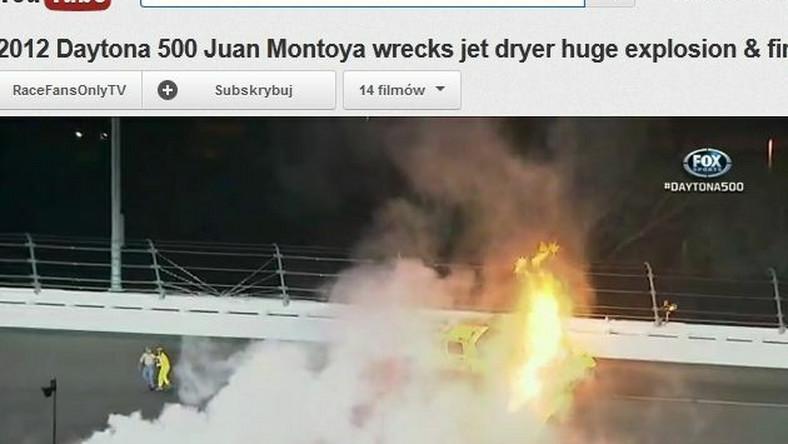 Wypadek podczas wyścigu Daytona 500