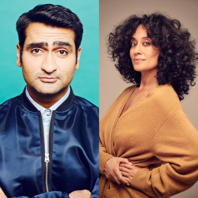 Kumail Nanjiani and Tracee Ellis Ross [Instagram]