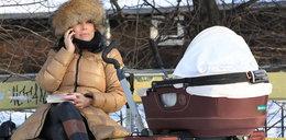 Ania Mucha z maleństwem w parku. Część II FOTO