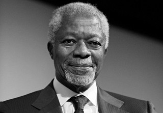Zmarł Kofi Annan - były sekretarz generalny ONZ, laureat pokojowego Nobla