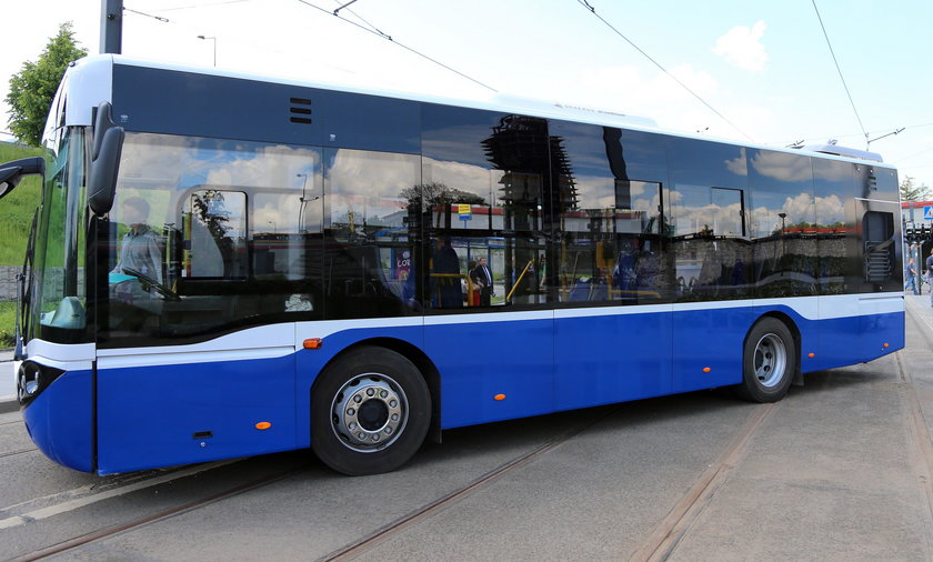 Nowa szata graficzna autobusów w Krakowie