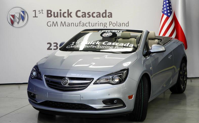 Buick cascada - auto tej amerykańskiej marki jest produkowane w Gliwicach