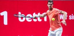 Turniej ATP w Paryżu. Hurkacz lepszy od Kubota w półfinale debla