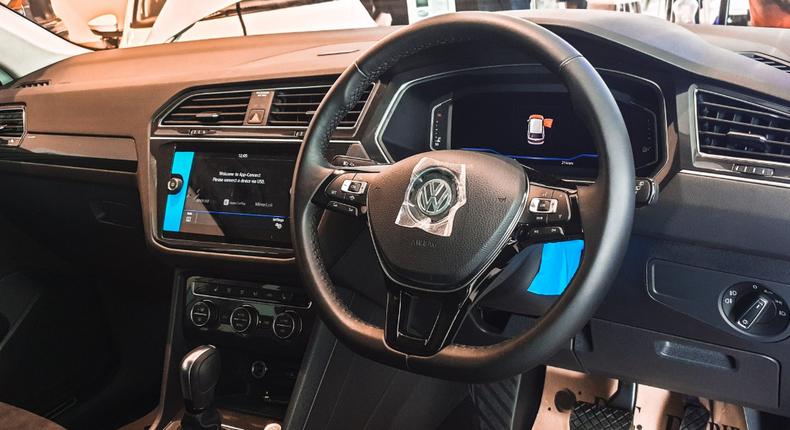 Volkswagen Tiguan Allspace. (twitter/DTDobieKE)