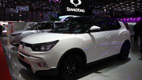 SsangYong Tivoli - zawojuje rynek SUV-ów (Genewa 2015)