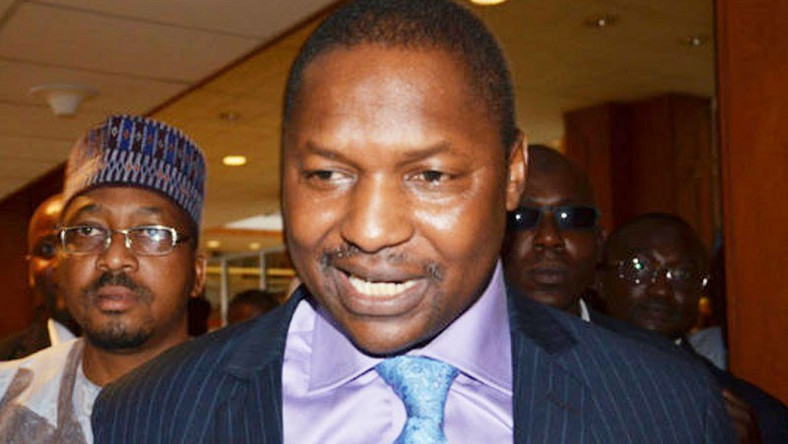 Minister of Justice and Attorney General of the Federation, Abubakar Malami. (Vanguard)