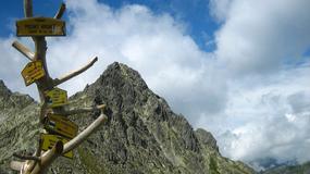 Wysokogórskie szlaki w Tatrach Słowackich zamknięte na zimę