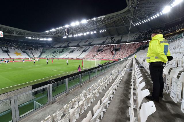 Prazne tribine na utakmici Juventus - Inter odigrane 8. marta