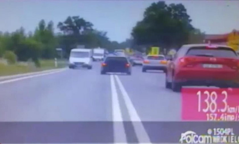 Policyjny pościg za naćpanym kierowcą