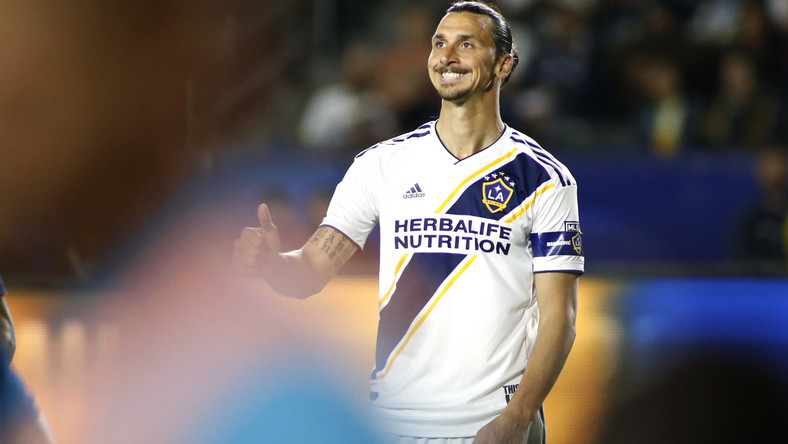 Major League Soccer: hat trick Zlatana Ibrahimovicia