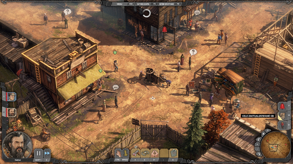 Desperados 3 - screenshot z gry (wersja na PC)