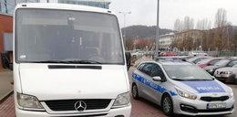 Kierowca miał zawieźć licealistów na Kaszuby. Nauczyciele zauważyli coś niepokojącego