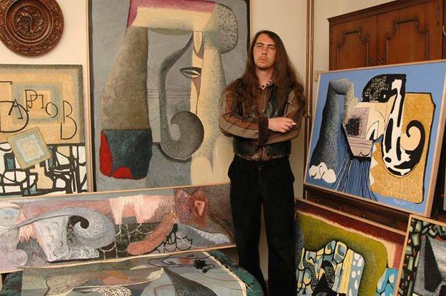 Dragan u svom ateljeu